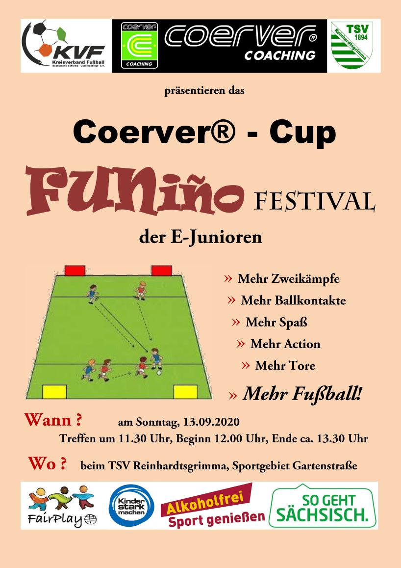 Plakat Funino Festival Junioren E
