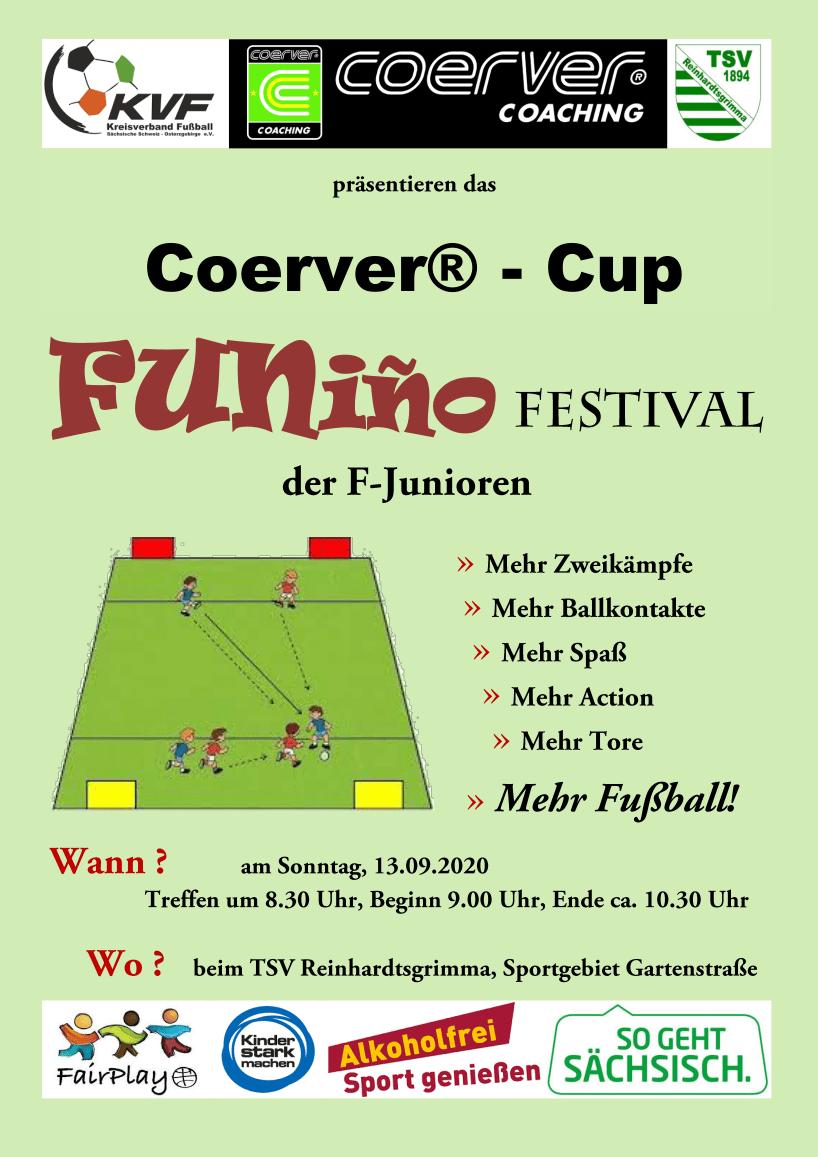 Plakat Funino Festival Junioren F